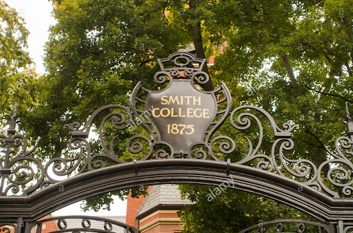 Smith College Gate, Smith College Building, Smith 1875