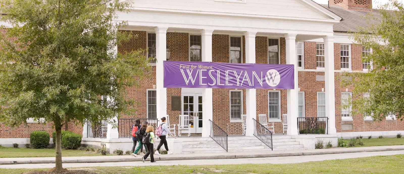 wesleyan college building