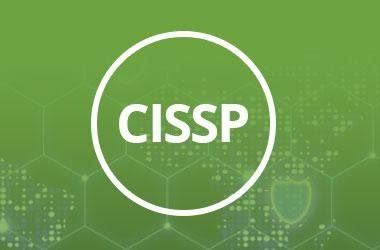 CISSP logo on green background