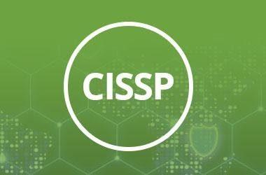 CISSP logo on green background