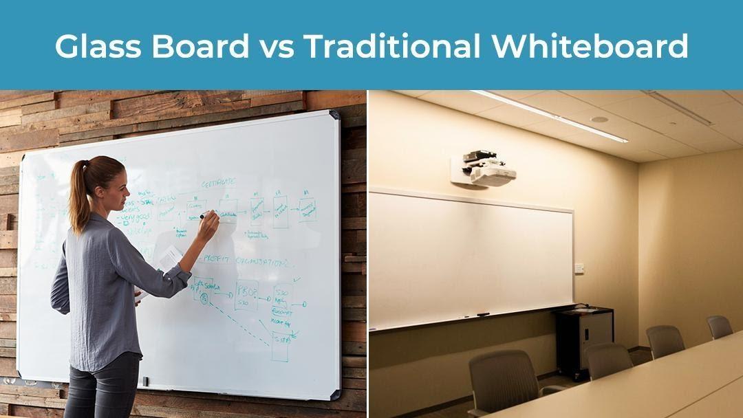 glass board vs traditional white board